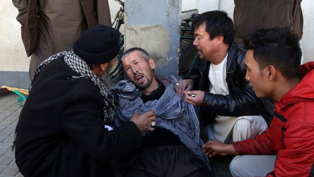 Islamic State claims attack on Shiite centre in Kabul, 41 dead