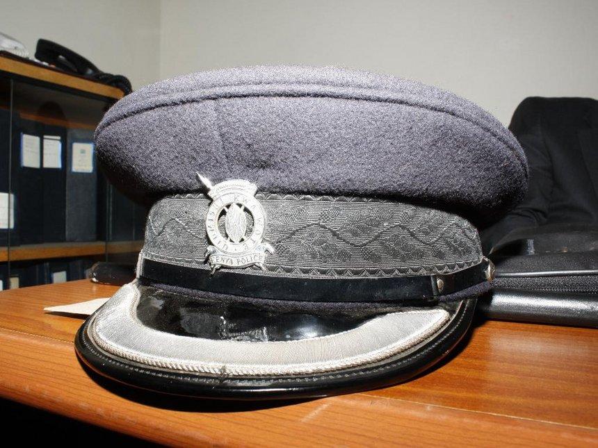 Nyeri cop dies after choking on meat