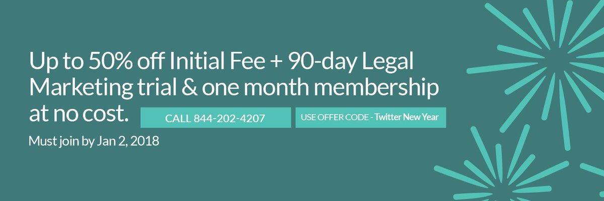 test Twitter Media - This could be the best decision you make in 2018 (everyone likes a strong start, anyway): Join WealthCounsel by January 2 to save up to 50% on your Initial Fee + 90-day Legal Marketing trial & one-month membership at no cost! Call 844-202-4207 to learn more https://t.co/TJF1HmURhN