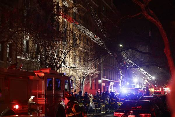 12 dead, including 1-year-old, in New York City apartment fire