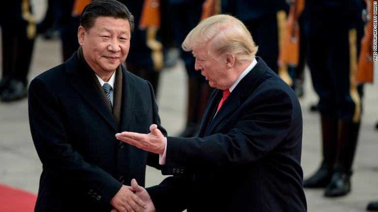 President Trump accuses China of allowing oil into North Korea