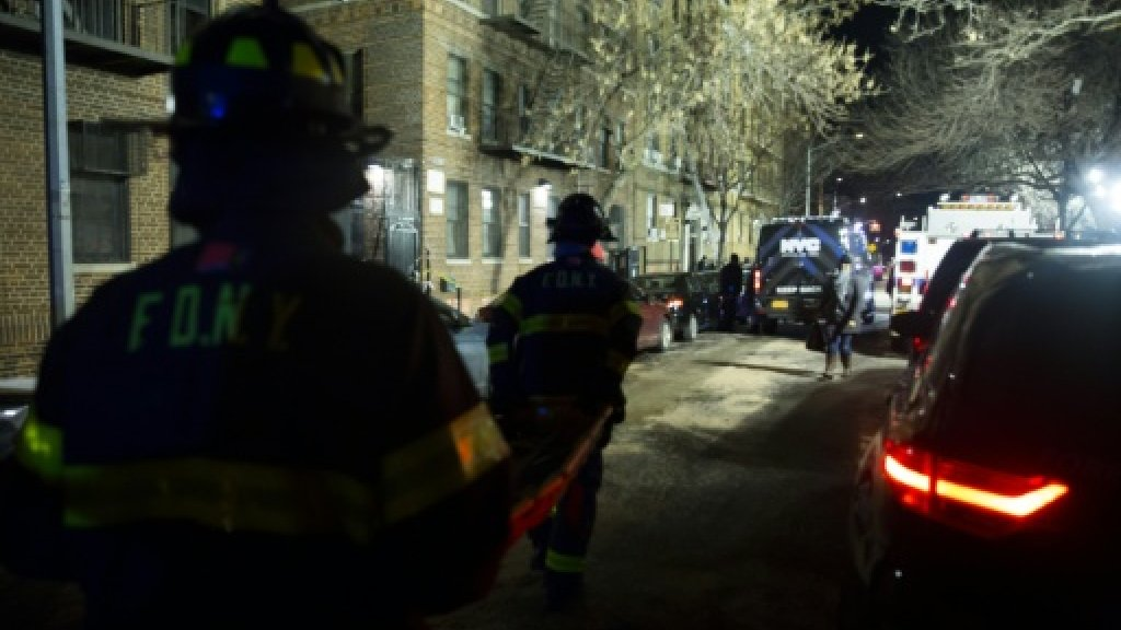 Worst New York fire in decades kills 12 in the Bronx