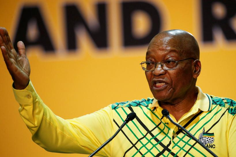 South Africa's top court rules parliament failed to hold Zuma to account over scandal