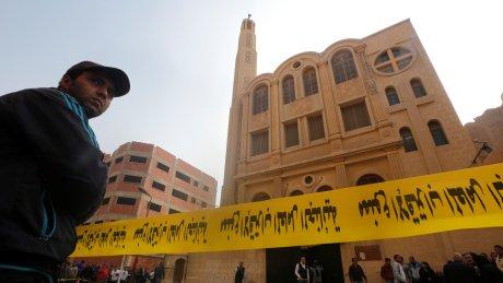 Gunmen attack church near Cairo, killing 9