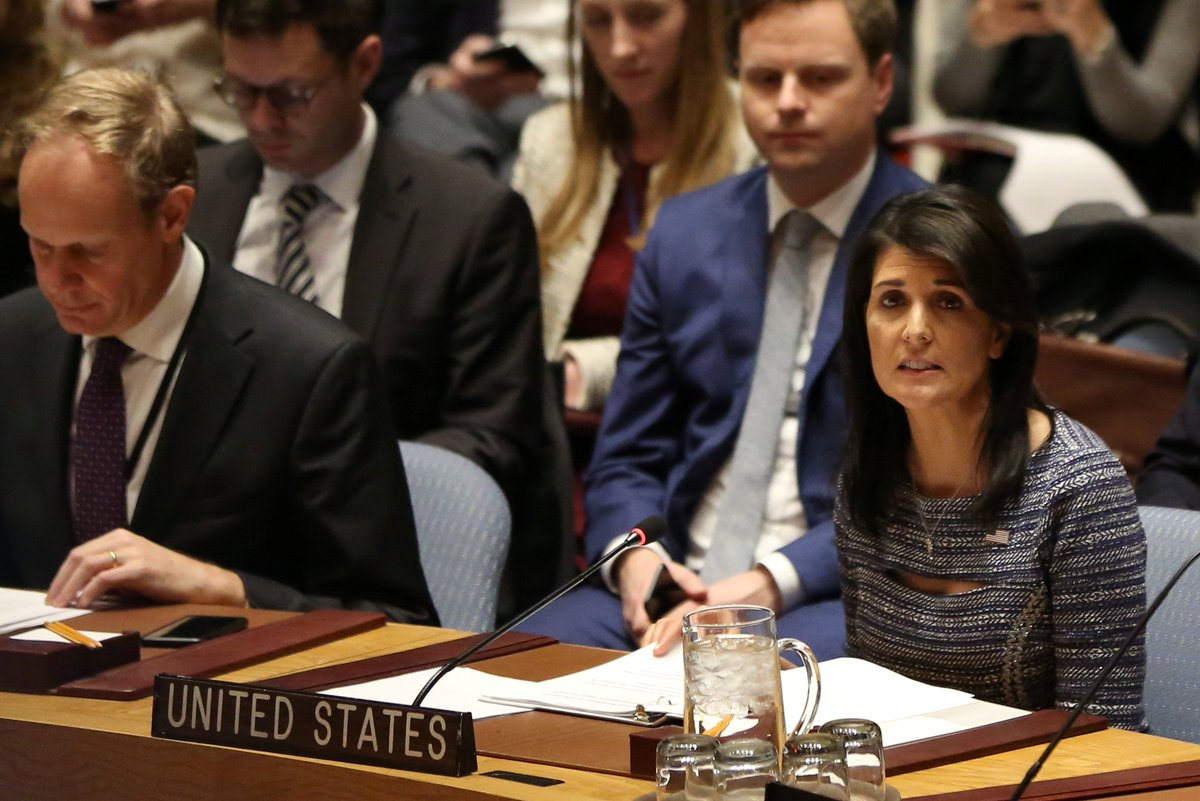 Did Trump's United Nations ambassador just promise to protect Binomo, a fake country?