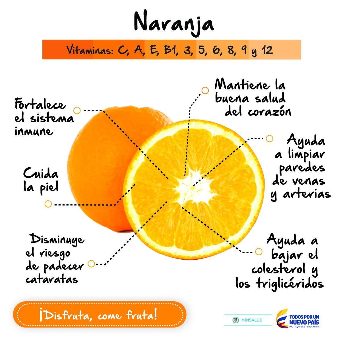 La naranja ayuda a limpiar las venas y arterias ...