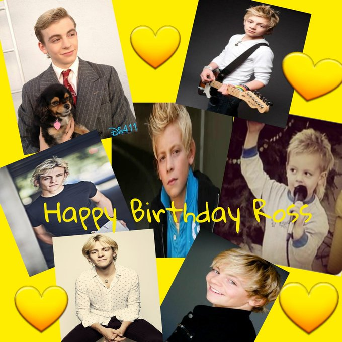 Happy Birthday Ross The Boss I hope you have a great time love you