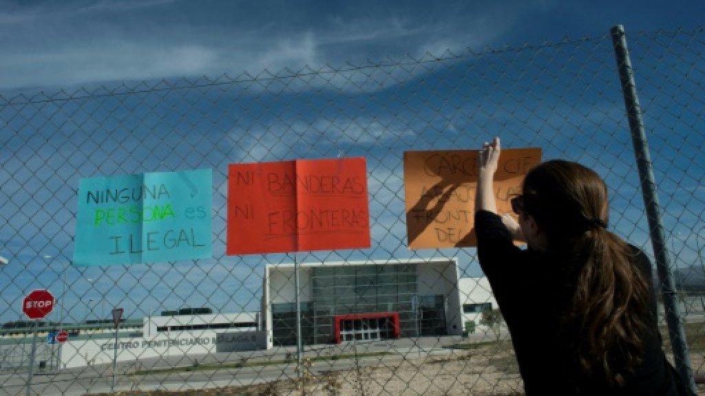 Algerian migrant held in jail in Spain found dead