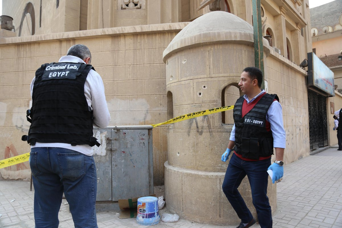 At Least 10 People Killed in Shooting Outside of Egypt Church