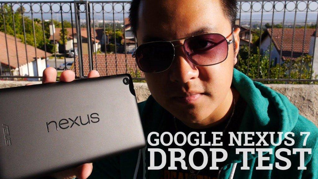 Google Nexus 7 Drop Test! (2013 / 2nd Generation) https://t.co/SEfPkdbOut...