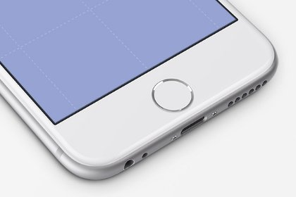 White iPhone Perspective Mockup Mock_ups freebies design SocialMedia