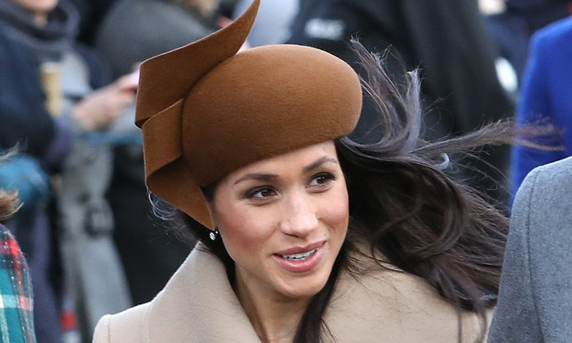 .@meghanmarkle 's Christmas Day dress was stunning - take a look!