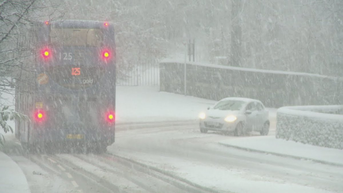 Severe weather warnings issues after heavy snowfall