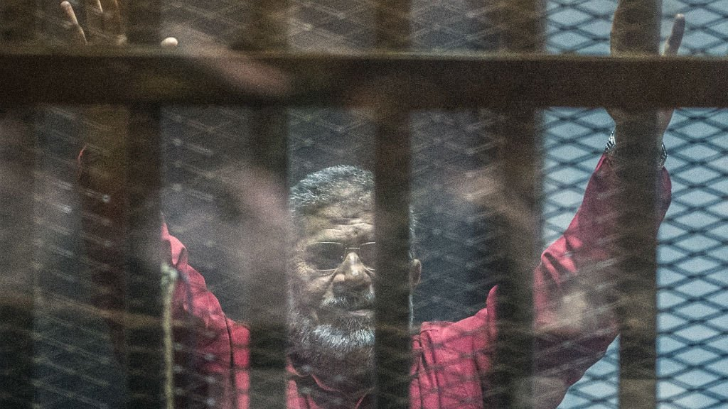 Egypt court sentences ex-president Morsi for three years for insulting judiciary