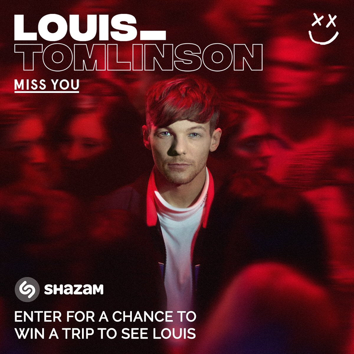 @Shazam @Louis_Tomlinson #MissYou and enter for a chance to win a trip to see Louis in the US!  #MissYouFlyAway https://t.co/869WOfhqkp