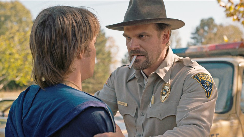 .@DavidKHarbour on how he'll top last year's SAG awards speech