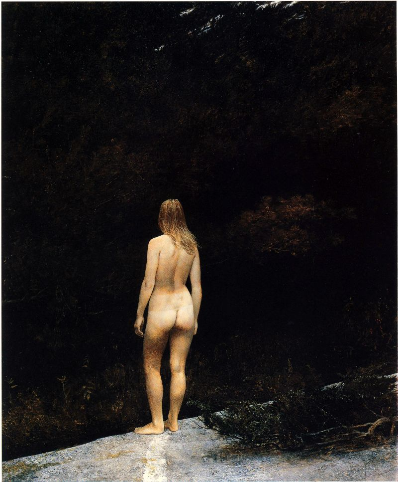 Andrew Wyeth, Indian Summer, 1970. https://t.co/on91GbjEnC