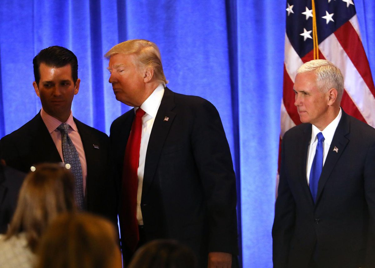 Pence and Trump Jr. could be next in Mueller's Russia probe