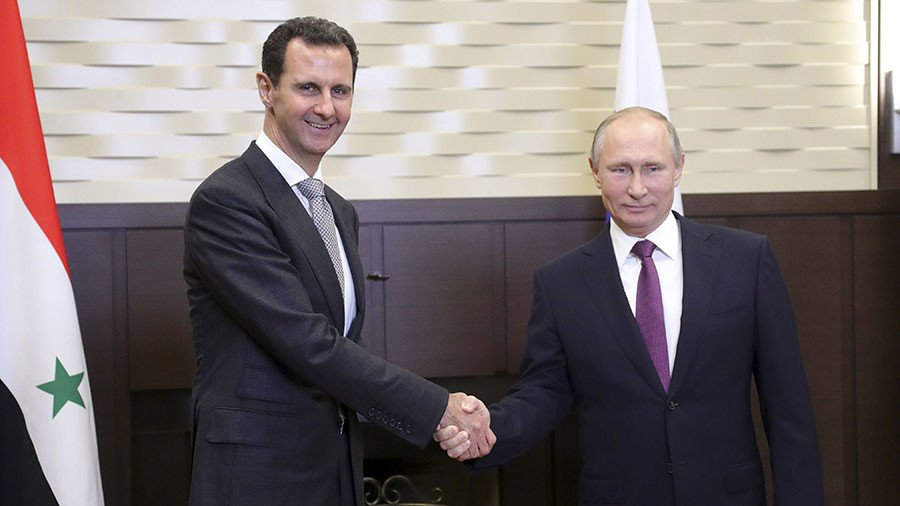 Putin vows to continue supporting Syria's sovereignty in New Year's telegram to Assad
