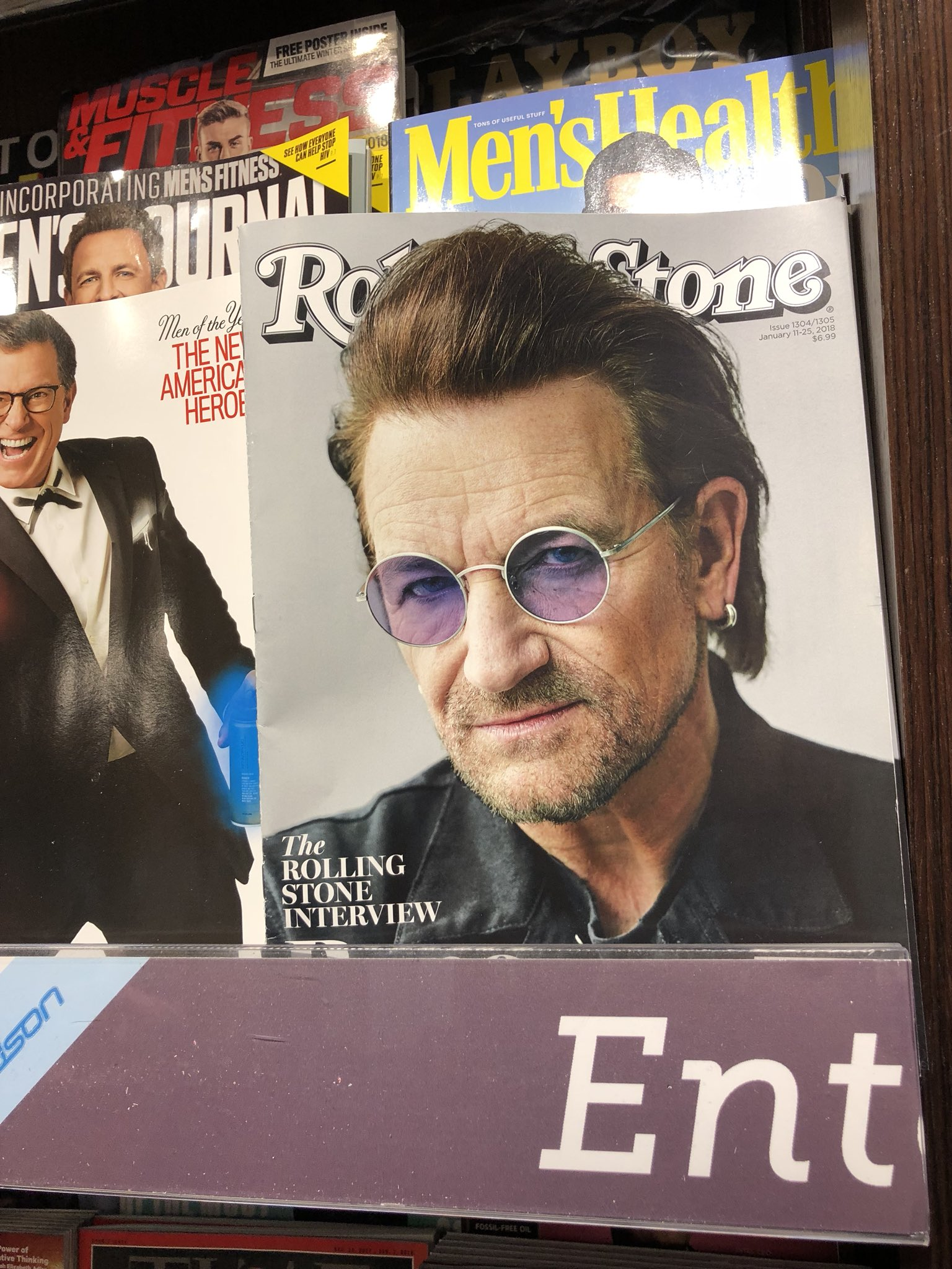 This dude giving me the stink-eye while I'm trying to buy magazines. https://t.co/1VR3q7PmRr