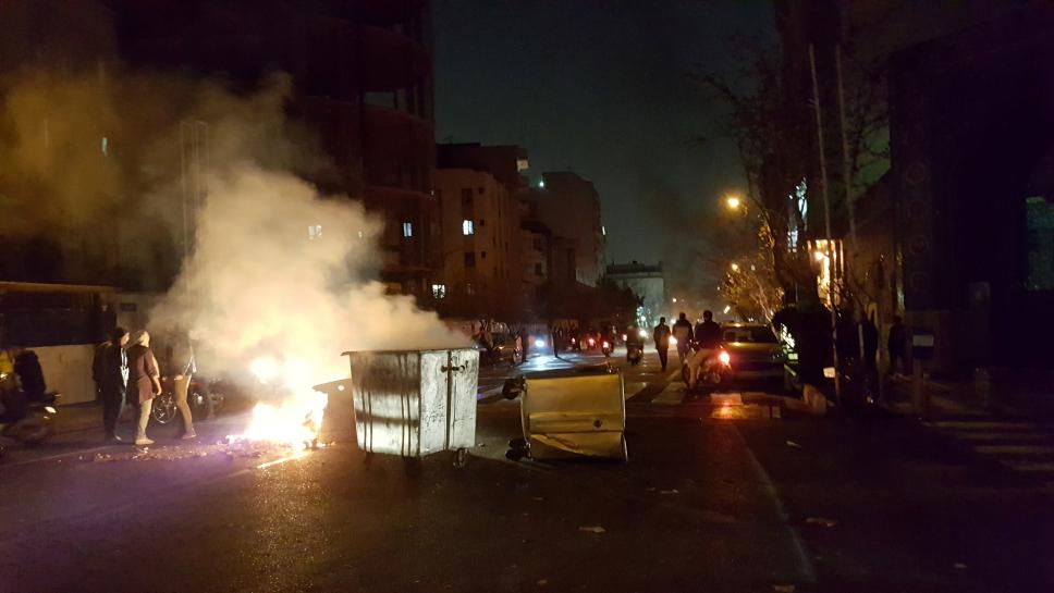 Street protests hit Iran for third straight day as pro-government rallies held