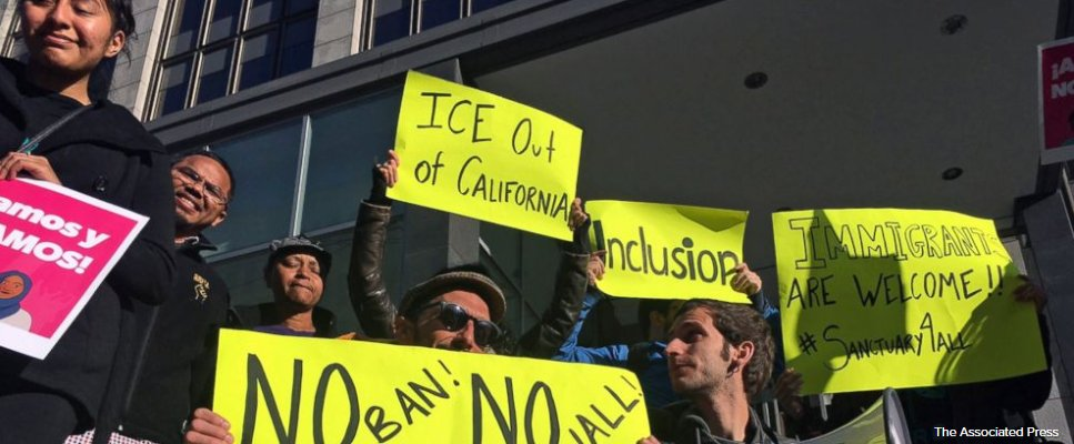 New California laws cover immigration, marijuana, education.
