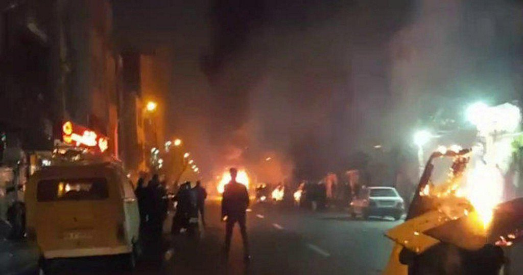"Trump administration responds to Iran protests: ""The world is watching"""