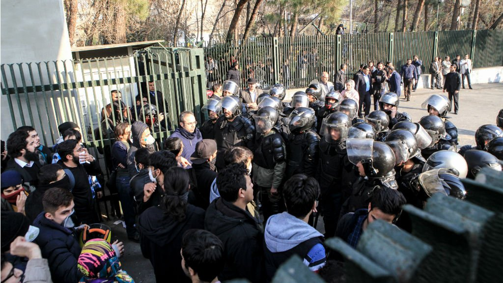 Anti-government demonstrations in western Iran turn deadly