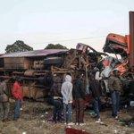 At least 36 dead in central Kenya bus crash