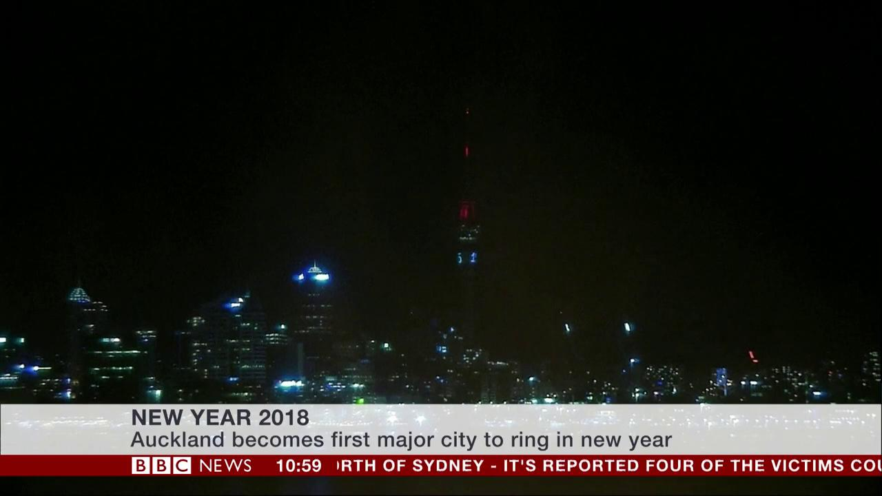 Auckland in New Zealand becomes first major city to welcome in 2018   #HappyNewYear https://t.co/rXqgihHqDi