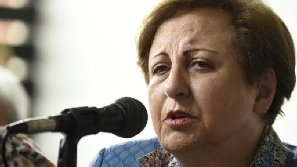 Iran unrest 'start of a big movement': Nobel Peace Prize-winner Ebadi