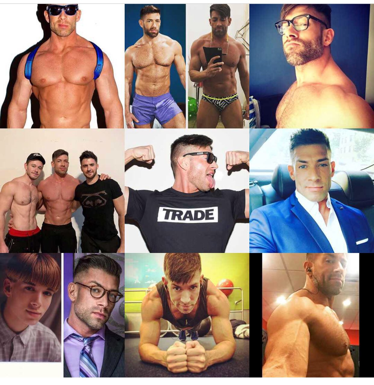 RT @BruceBeckhamXXX: Here's my top 9 from Instagram 2017.  Get into the fleshy goodness. https://t.co/dftV5cO2AR
