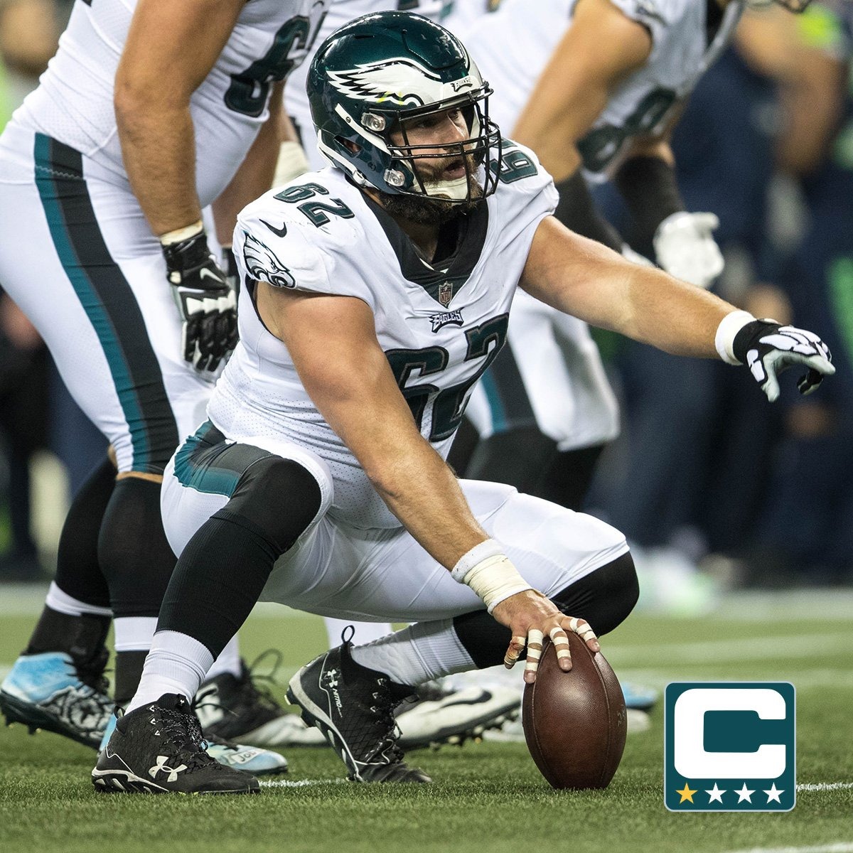 Jason Kelce and Donnie Jones will serve as additional captains today for #DALvsPHI.  #FlyEaglesFly https://t.co/xGSk4CjPP5