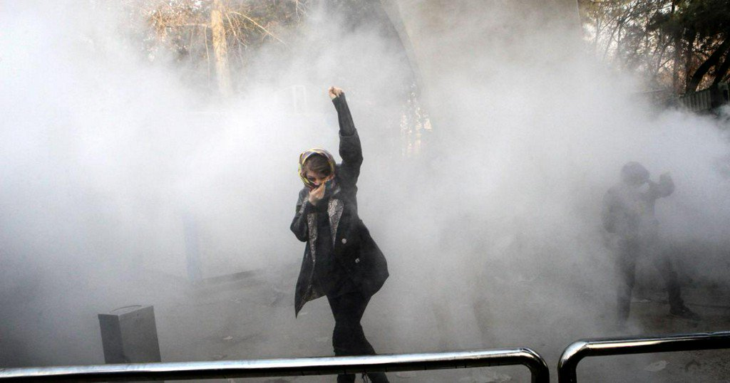 Iran protests turn deadly as 2 demonstrators reported killed