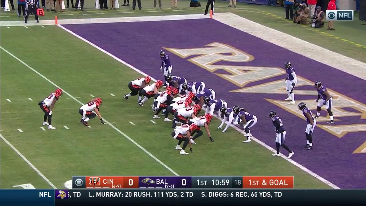 Dalton finds Kroft and the #Bengals are on the board! 7-0  #CINvsBAL #Bengals50 https://t.co/fWYwEK87Rm