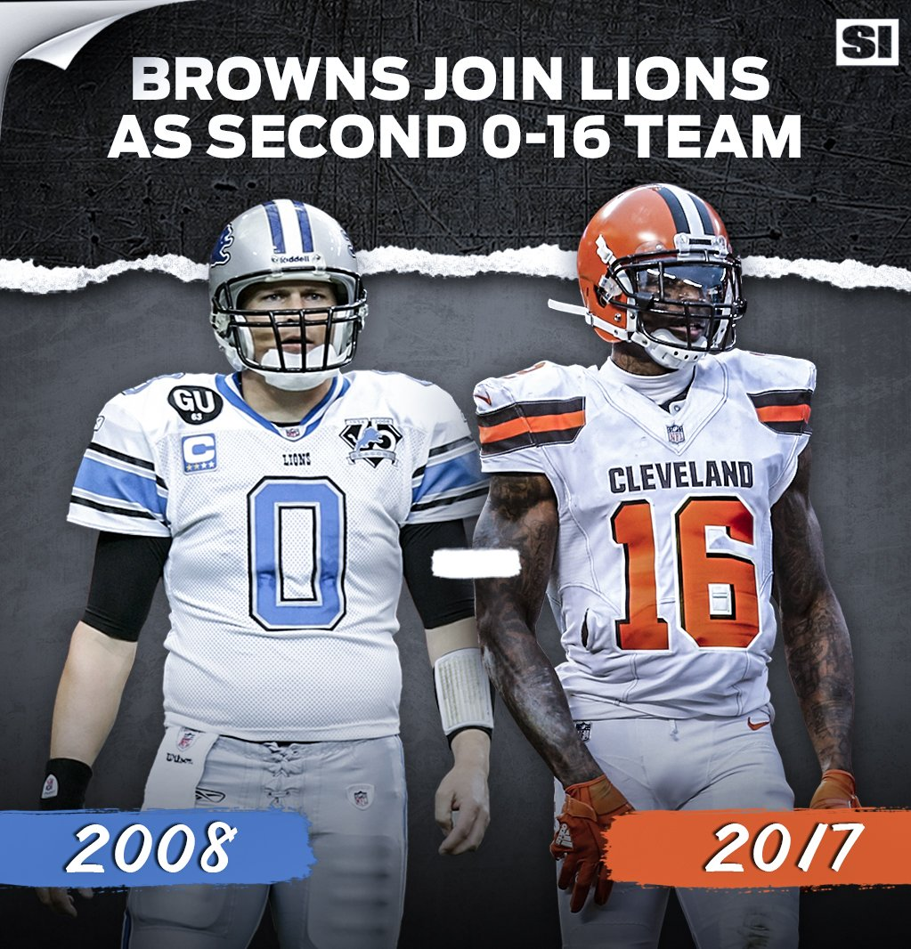The 2008 Lions have company:  The Browns are 0-16. https://t.co/LL5IjZLR3A