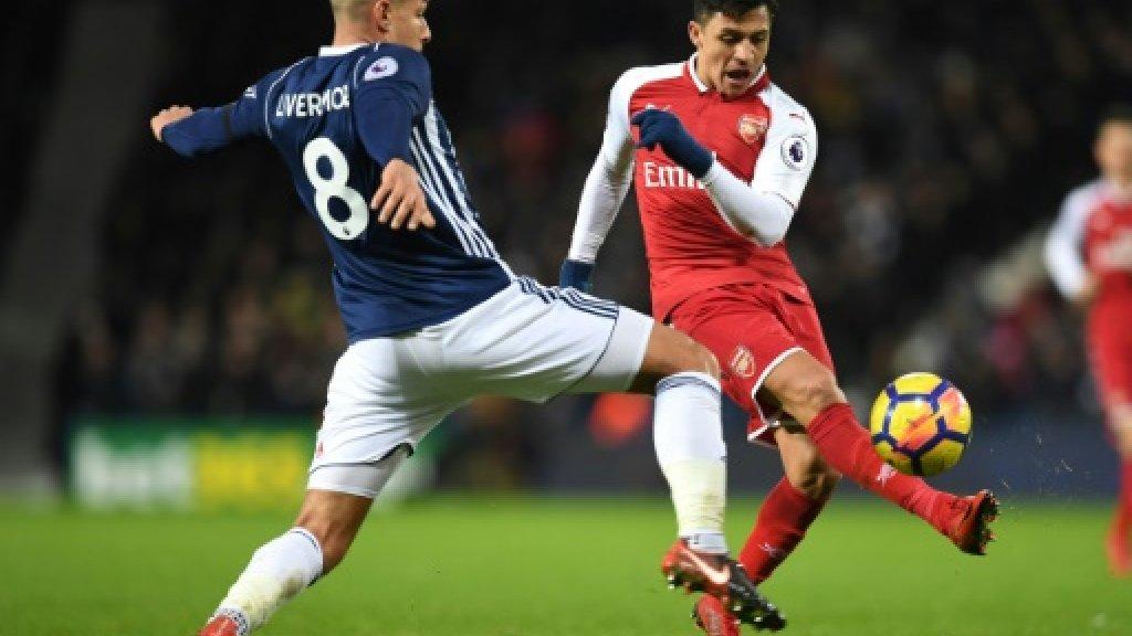 Manchester City's winning run ended as Wenger overtakes Ferguson