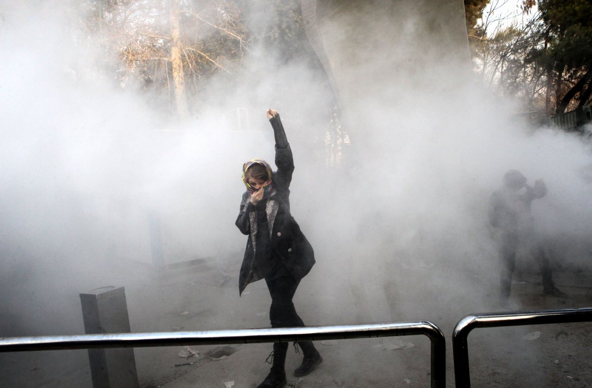 Two dead in Iranian street protests as government blocks access to social media