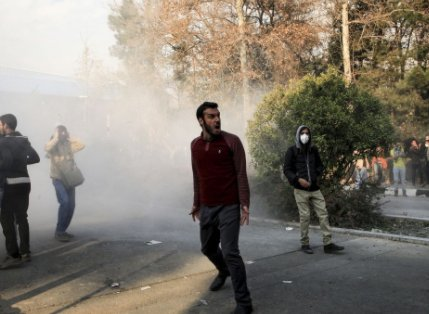 Two protesters in Iran killed as government blocks social media apps
