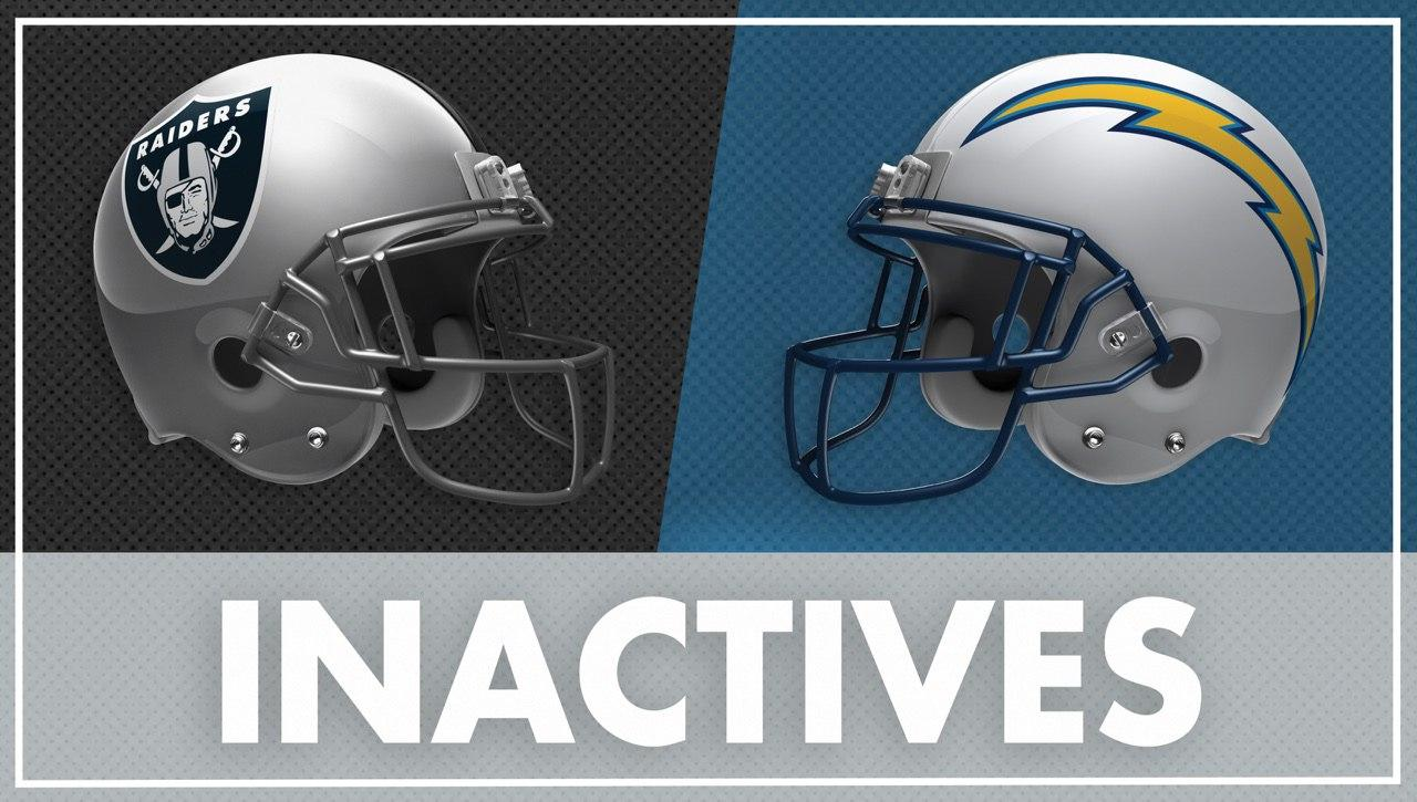 The following players are inactive for #OAKvsLAC: https://t.co/PtpEgMVGFM https://t.co/YD4YOUJz9s