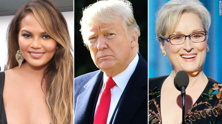 9 celebrity feuds of 2017, starring President Donald Trump