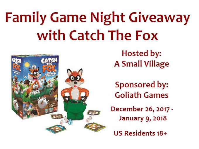 FAMILY GAME NIGHT GIVEAWAY 01/09 @GoliathGamesUS