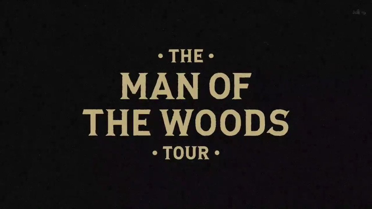 The Man of the Woods Tour. #MOTWTour. https://t.co/oydnUMzBE8 https://t.co/GGkWqW8rDa
