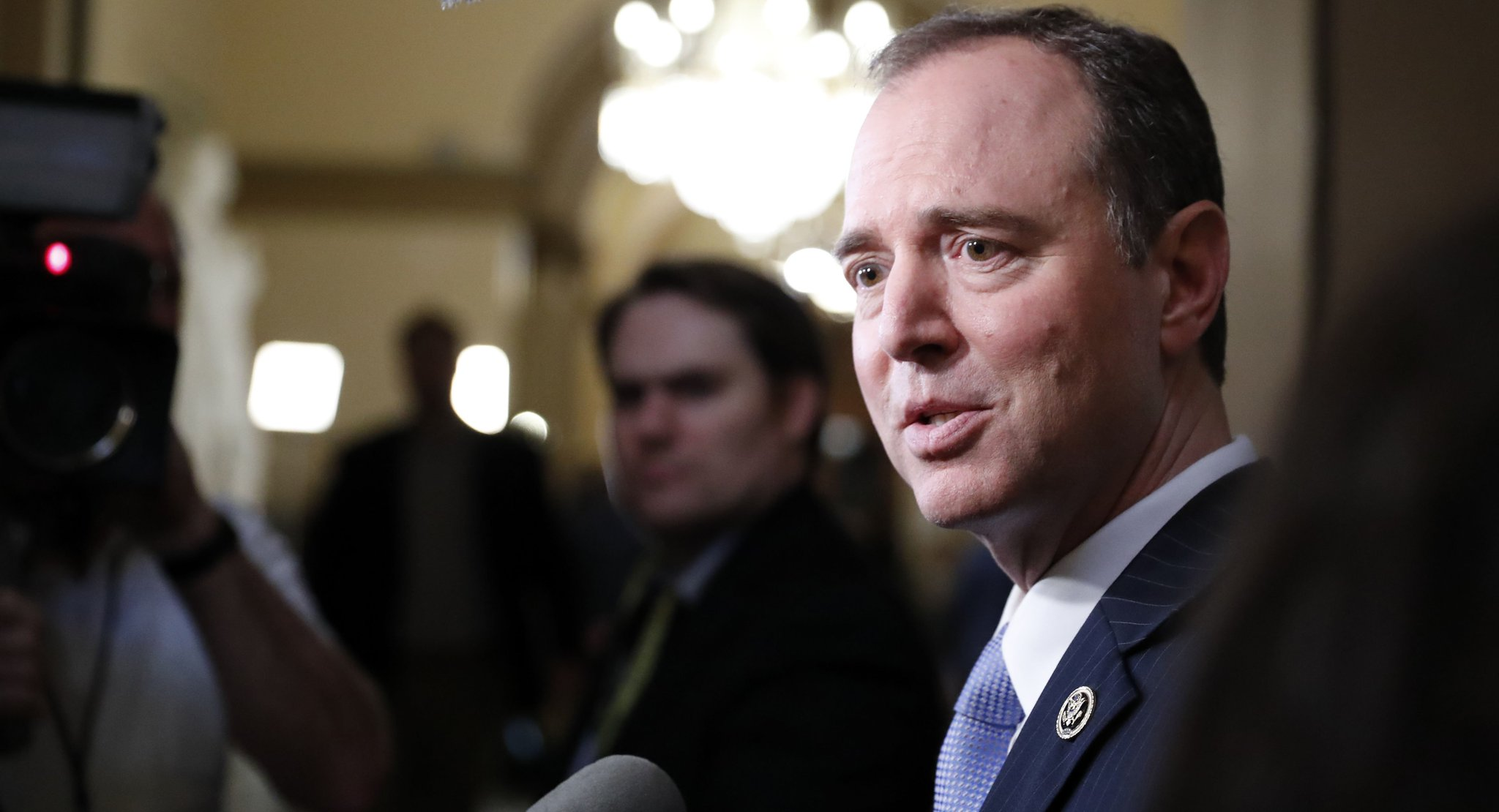 Schiff: 'We have a seriously flawed human being in the Oval Office' https://t.co/84U8ongDiv https://t.co/JeHqSNAC3D