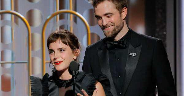 Emma Watson and Robert Pattinson had a mini Harry Potter reunion and it was magical: