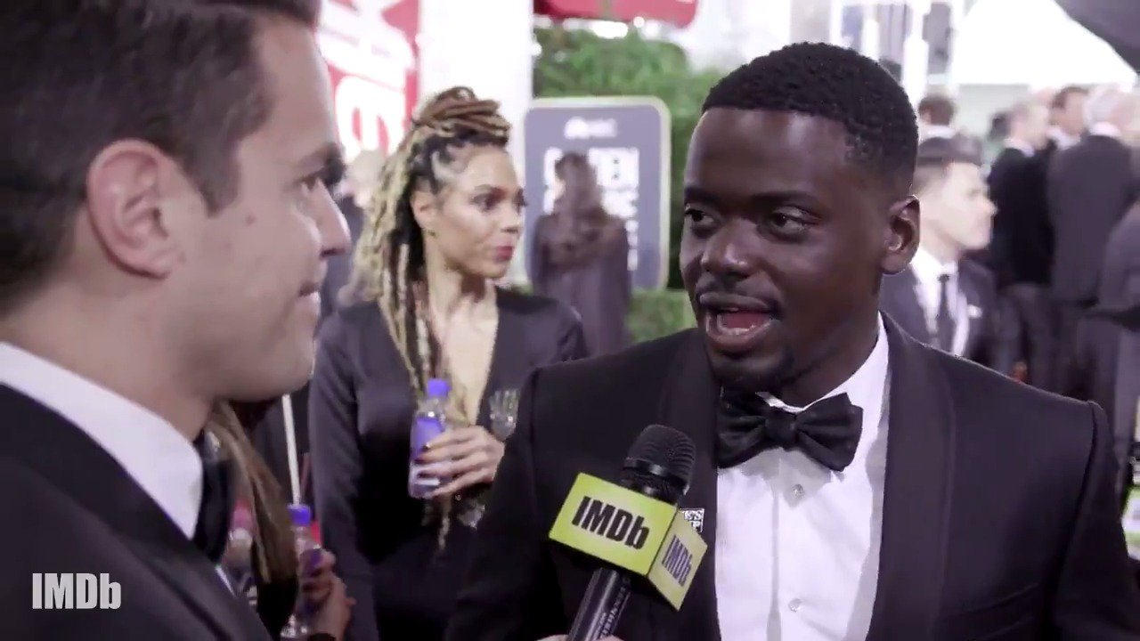 Daniel Kaluuya talks @JordanPeele and the success of #GetOut. #GoldenGlobes https://t.co/7r947R7zOT