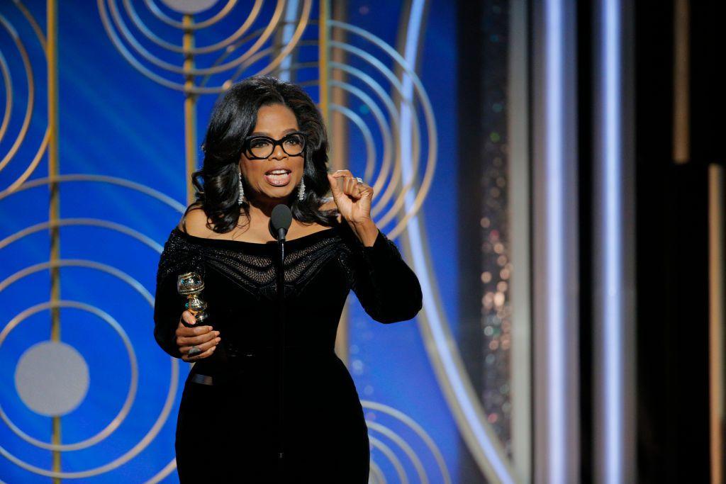 Watch Oprah's inspirational speech during Golden Globes (and read the fulltranscript)