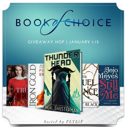 January Book of Choice Giveaway Hop