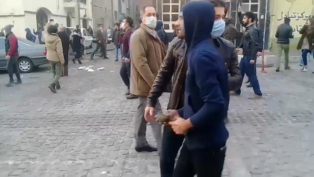 Two Iran protest deaths 'caused by foreign agents' - local governor