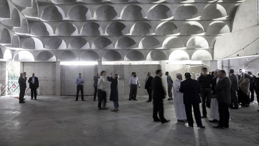 Inside Australia's stunning 99-domed mosque
